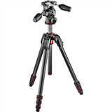 سه پایه مانفروتو Manfrotto 190Go Kit with MH804-3W Head